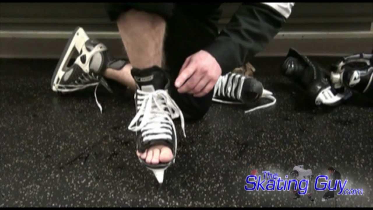 dd338aded1f Fitting Skates Properly - TheSkatingGuy.com - YouTube