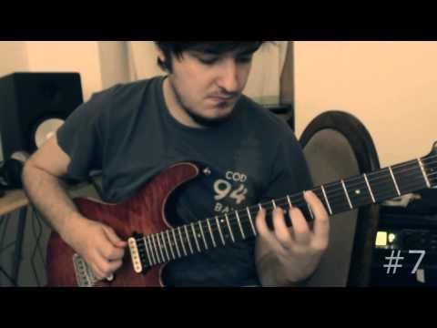 Martin Miller - Guitar Diary Episodes 1-8 + TAB (Legato, Hybrid Picking, Tapping)