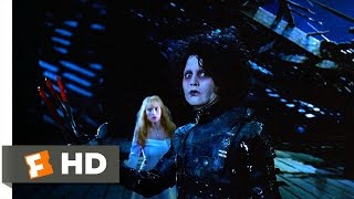 Edward Scissorhands (4/5) Movie CLIP - Jim Attacks Edward (1990) HD