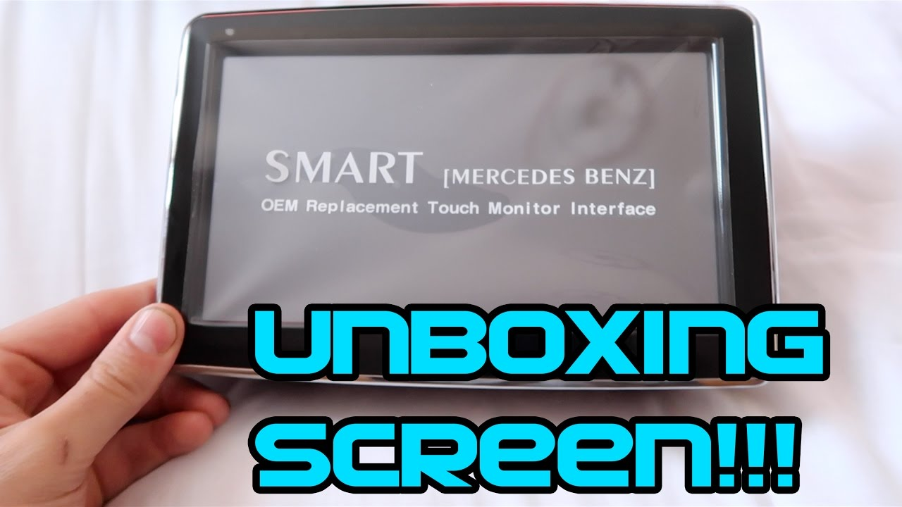Unboxing New 8 Inch Screen - A45 AMG!