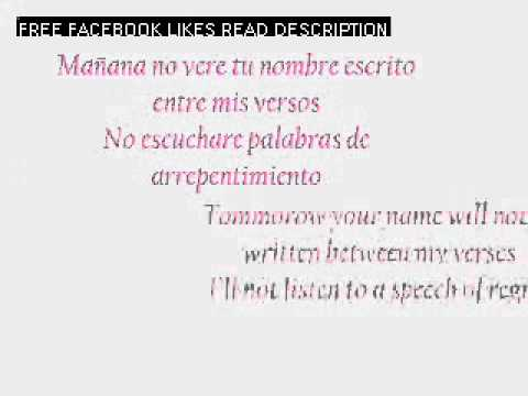 Jennifer Lopez-Que Hiciste(spanish and english lyrics).wmv