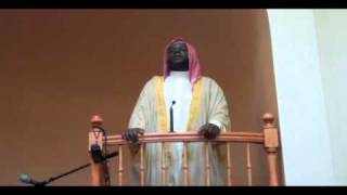 Imam Shafi bin Abdul Aziz KHUTBAH on Conflict resolution in Islam  ICNM USA pt. 1 of 4