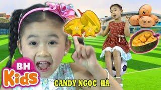 QUẢ ♫ Quả Gì Mà Chua Chua Thế ♫ Bé Candy Ngọc Hà   Nhạc Thiếu Nhi