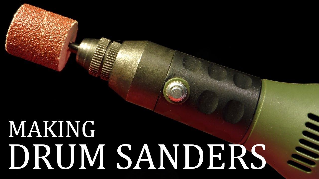 Homemade Drum Sanders - YouTube