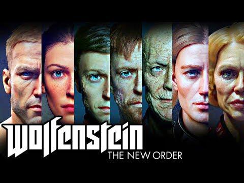 WOLFENSTEIN: THE NEW ORDER - FULL MOVIE...