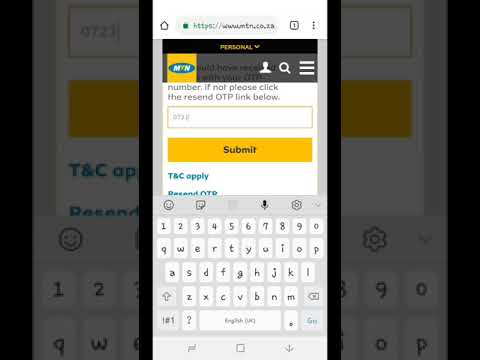 How To Get Free MTN 1gb On Any MTN Sim Card