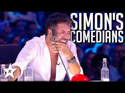 Simon Cowell's BEST Comedians on Britain's Got Talent: The Champions 2019 | Got Talent Global