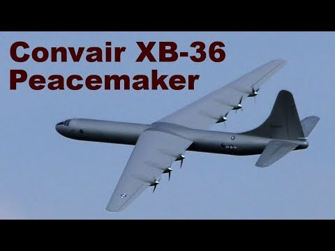 Convair XB-36 Peacemaker, 6,4m Giant Scale RC Aircraft, JMM 2019