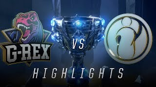 GRX vs. IG - Worlds Group Stage Day 8 Match Highlights (2018)