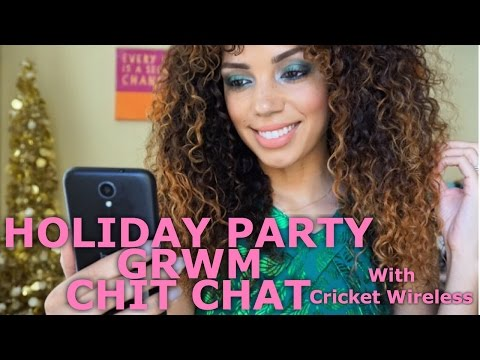 Holiday GRWM Chit Chat w/ Cricket Wireless