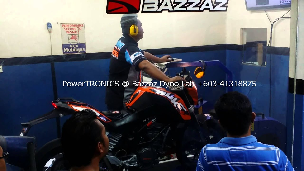 Ktm Duke 200 Powertronic Dyno Tuning Motodynamics Technology Powertronixinductor1jpg Malaysia