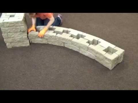 Muro a secco tango ferraribk realizzazione di un for Costruire laghetto in cemento