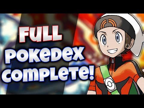 Pokemon Omega Ruby & Alpha Sapphire - Full Pokedex Complete! [All 719 Pokemon]