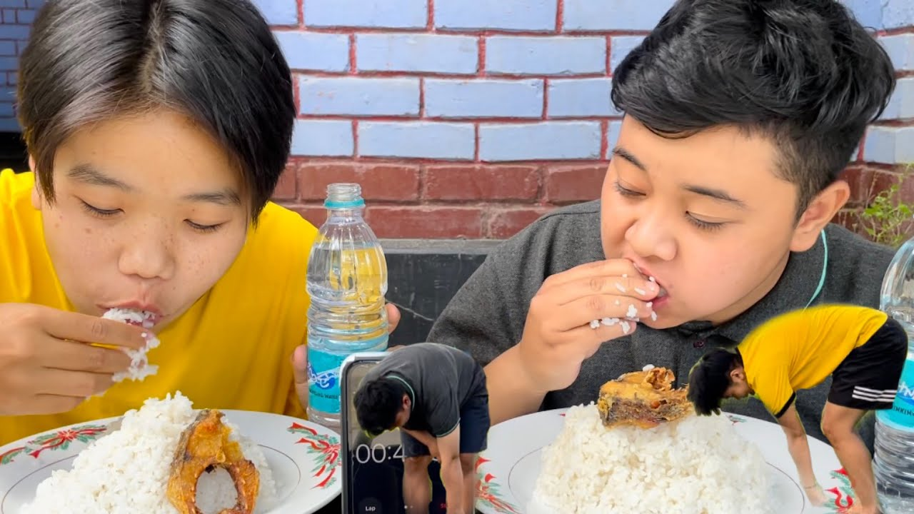 CHAGANG EATING CHALLENGE | Sounds Worth Manipur | Meitei Mukbang