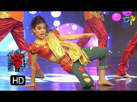 Aqsa Khan Performance | Dhee 10 |  20th December 2017 | ETV Telugu