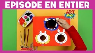 Disney Junior - Art Attack : Jeu d'adresse - En Français
