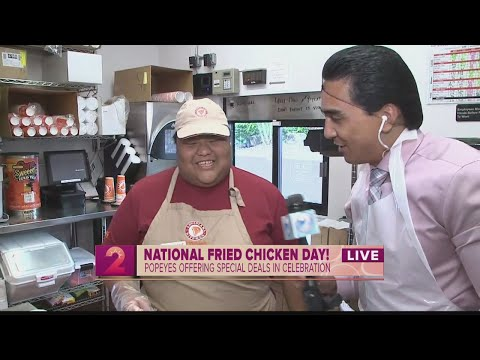National Fried Chicken Day Brings Us To Popeyes Louisiana Kitchen