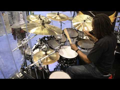 Evolution Drum Gear (EDG) - George Johnson Jr. 02 (SEAL) PDC drums W.NAMM 2015