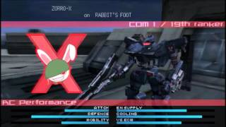 Armored Core:Last Raven Portable OP-I AC Testing