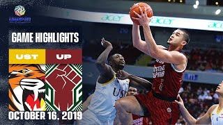 UST vs. UP - October 16, 2019  | Game Highlights | UAAP 82 MB