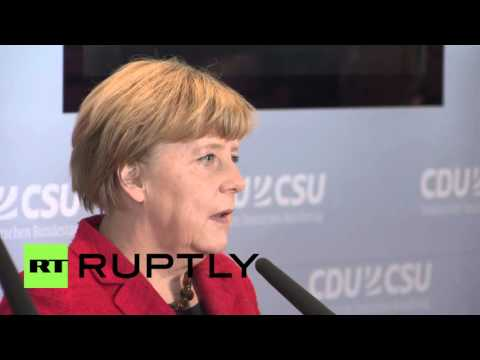 Germany: Merkel's Christian Democrats announce agreement on refugee response