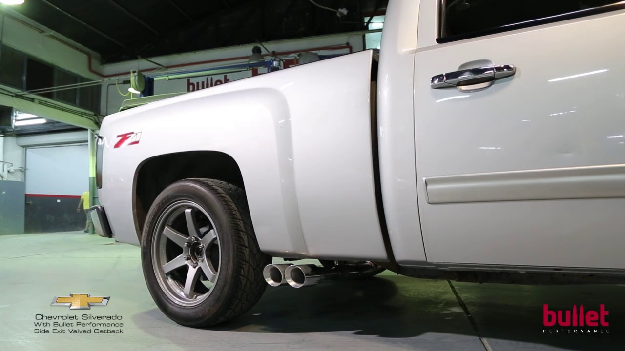 Chevrolet Silverado With Bullet Performance Side Exit