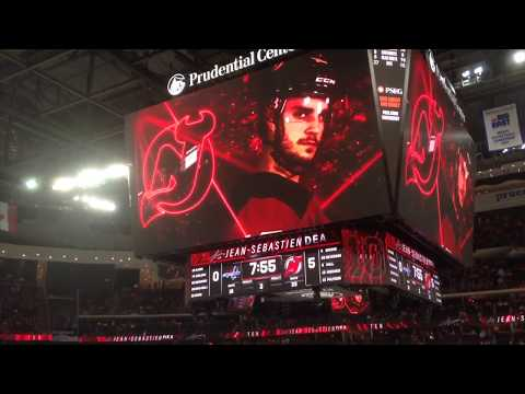 Jean Sebestian-Dea's first Goals with New Jersey Devils 10.11.2018