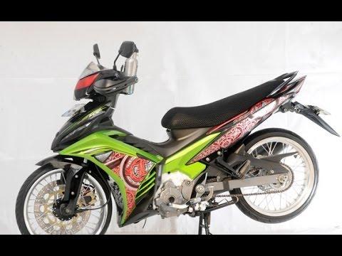 Motor Trend Modifikasi | Video Modifikasi Motor Yamaha Jupiter MX Velg Jari-jari Terbaru