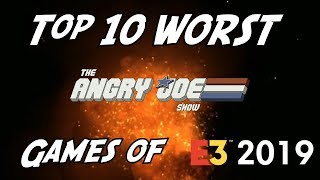 Top 10 Worst Games/Moments of E3 2019!