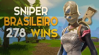SOLO-AWP ONLY on the HEAD-8 KILLS-278 WINS (Fortnite Battle Royale Gratis) #62 [EN-BR]-Softe