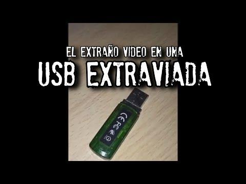 Extraño video en una USB extraviada