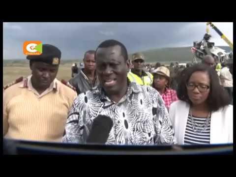 12 killed at Salgaa black , All the victims were aboard a 14-seater matatu