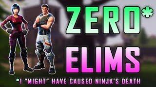 Fortnite - Zero Elimination Challenge With Ninja! - June 2018 | DrLupo
