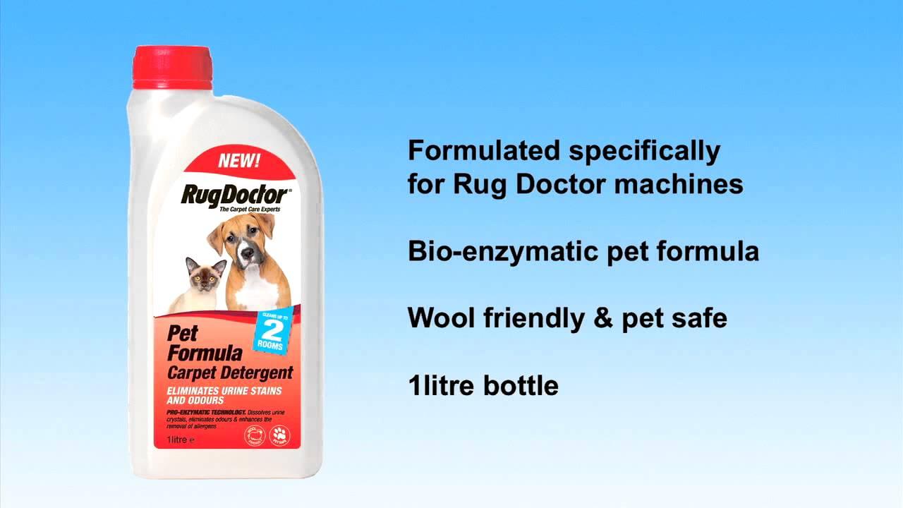 Rug Doctor Pet Formula Carpet Detergent