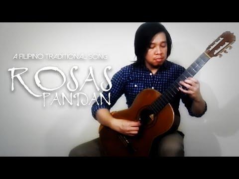 MINGGOY LOPEZ - Rosas Pandan (Filipino Traditional Song) - Solo Guitar - Paul Adrian Moldez