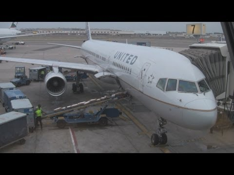 United Airlines Boeing 757-200 Business First Seat 4B