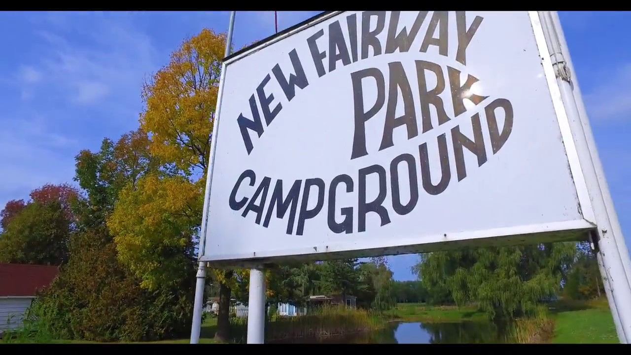 Campground For Sale in Port Elgin Ontario - Aerial Tour