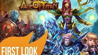 Age of Titans Gameplay First Look - HD