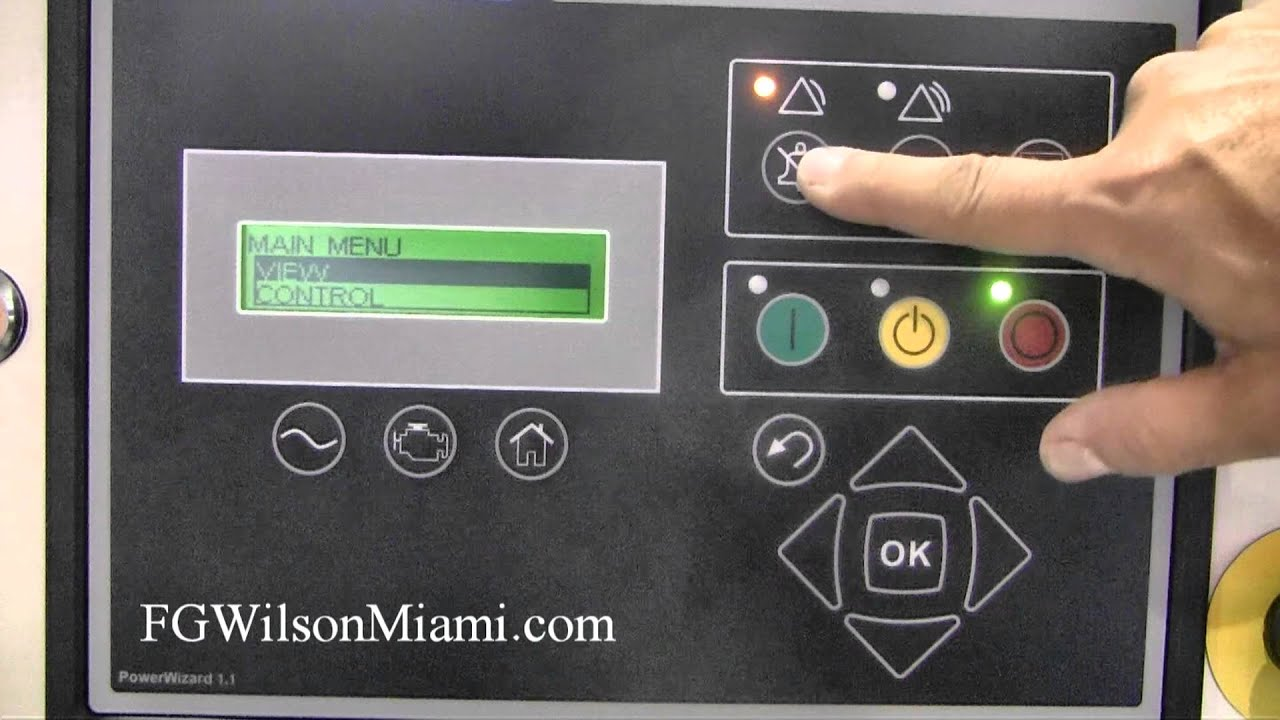 fg wilson miami powerwizard 1 1 panel layout youtube fg wilson generator control panel wiring diagram [ 1280 x 720 Pixel ]