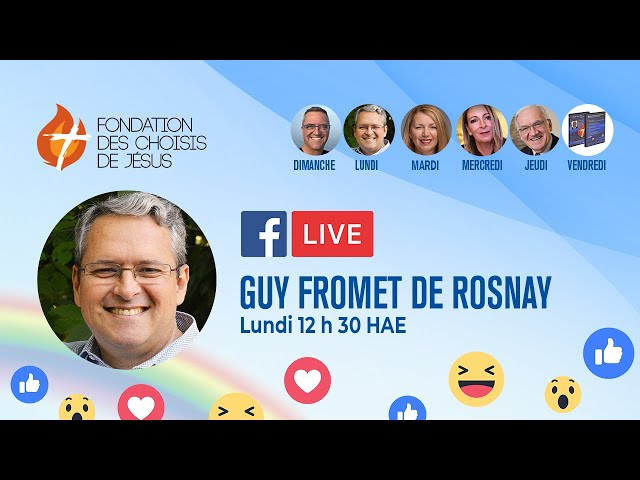 Facebook Live quotidien 24/05/2021 - Amour et Volonté de Dieu : partie 1 : le moment présent