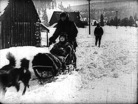 Buster Keaton - Il nord ghiacciato (cortometraggio 1922)