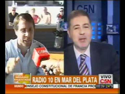 C5N - RADIO 10 EN MAR DEL PLATA