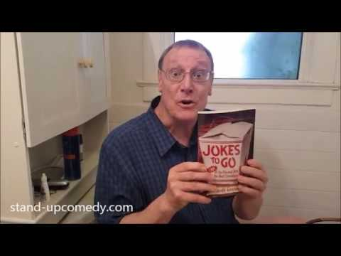 How To Write Stand Up Comedy Jokes Tips: Read Joke Books - Greg Dean