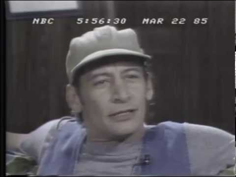 Jim Varney Performing Shakespeare's Hamlet on NBC Nightly  March 22, 1985