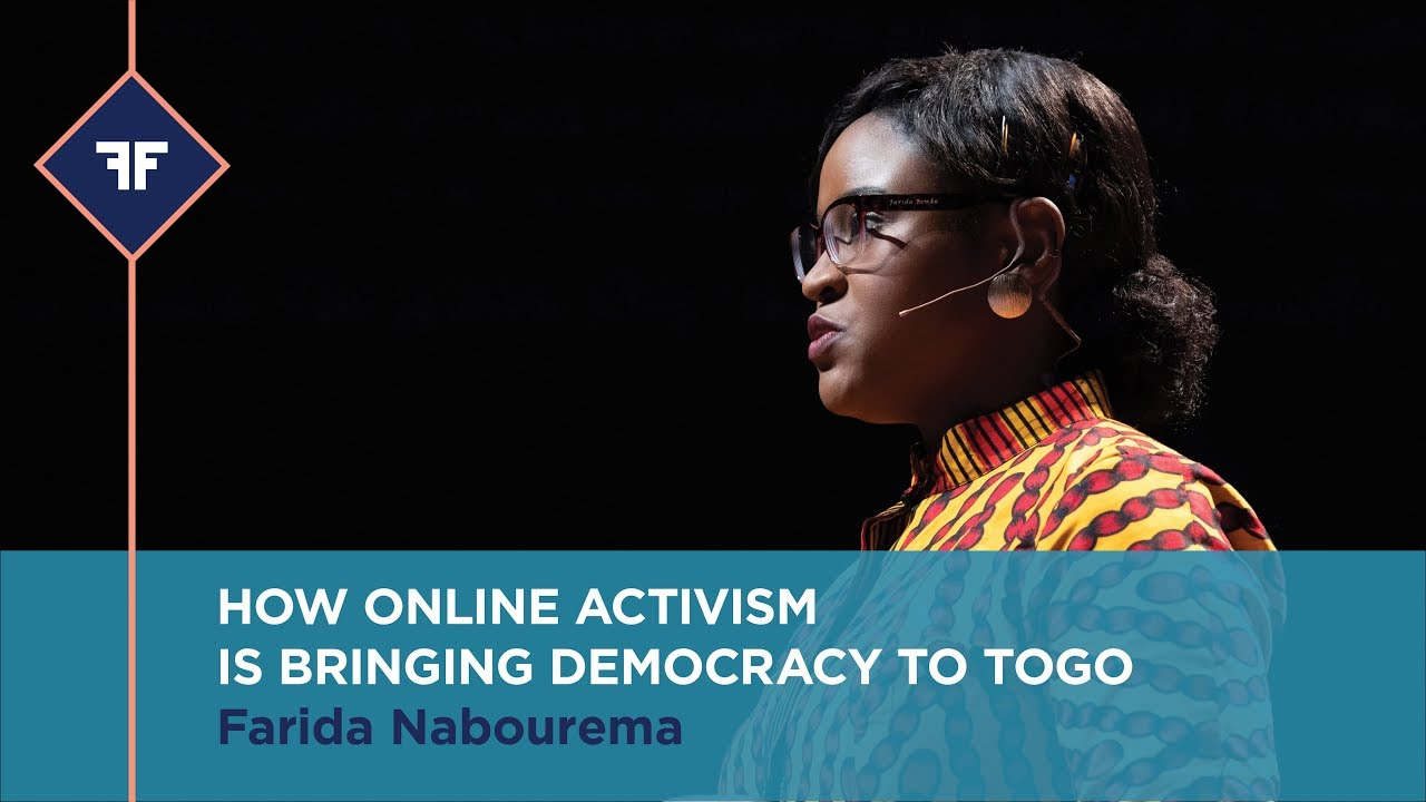 HOW ONLINE ACTIVISM IS BRINGING DEMOCRACY TO TOGO | FARIDA NABOUREMA | 2018 OFF in NY