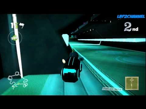 LittleBigPlanet Karting beta : TRON Kartolution` By Verbal83  : HD