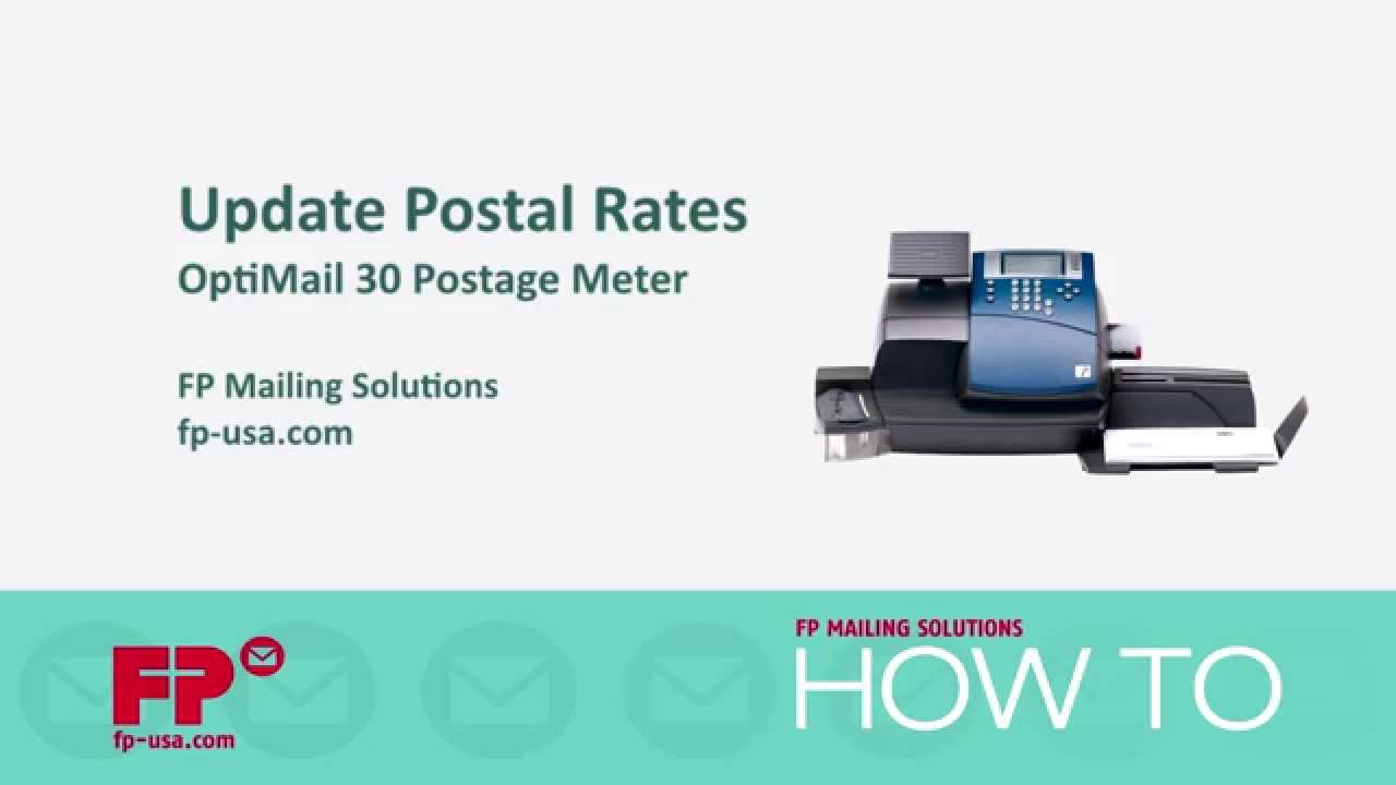 Optimail Postage Meter Support Fp Mailing Postage Meter Support
