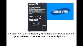 Samsung j7 prime batarya değişimi