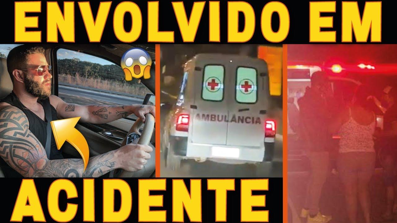 Gusttavo Lima SE ENVOLVE EM ACIDENTE com Ciclista | Saiba Tudo!