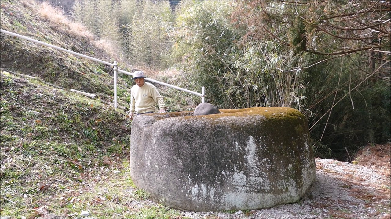 4483❓不思議発見:富津市の姥石...